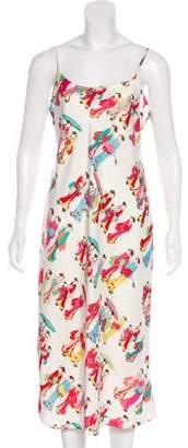 Natori Satin Dynasty Dress