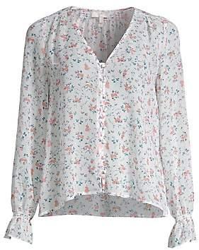 0c92c144e38bb Joie Women s Bologna Ditsy Print Silk Blouse