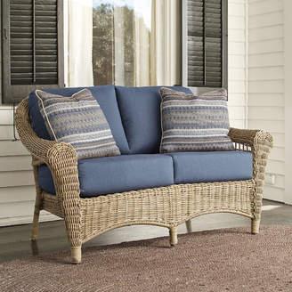 Birch Lane Lynwood Loveseat with Sunbrella Cushions