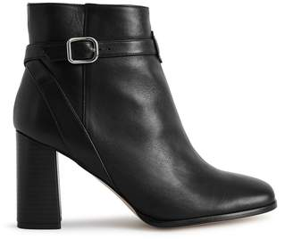 Reiss Fulham Leather Ankle Boots