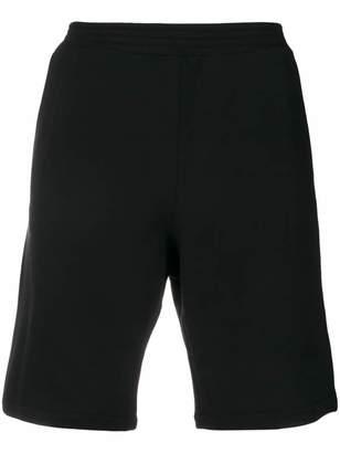 Versace back logo patch track shorts