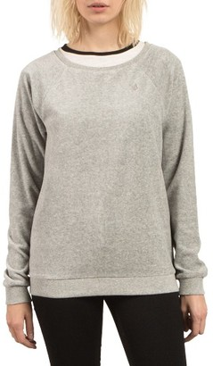 Women's Volcom Gotta Crush Raglan Sweatshirt $39.50 thestylecure.com