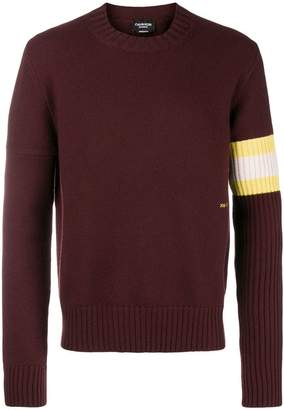 Calvin Klein contrast sleeve jumper