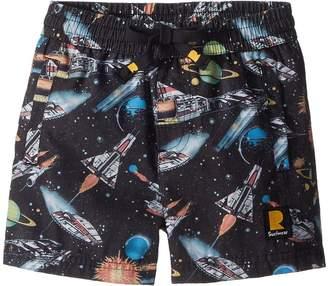 Rock Your Baby Space Invaders Boardshorts Boy's Swimwear