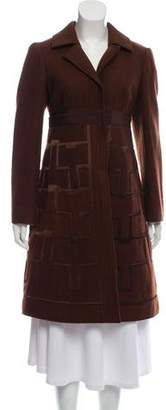 Philosophy di Alberta Ferretti Wool Knee-Length Coat