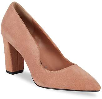 Opening Ceremony Women's Getta Point Toe Suede Pumps