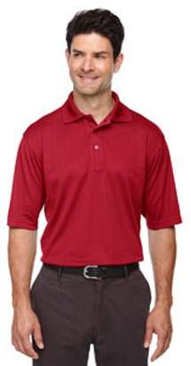 Ash City - Extreme Men's Eperformance Jacquard Pique Polo - CLASSIC RED 850 - 4XL 85092