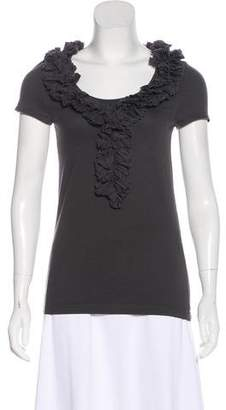 Marc by Marc Jacobs Ruffle-Trimmed Top