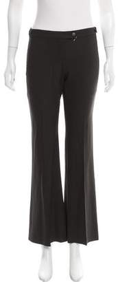 Theory Mid-Rise Flared Pants