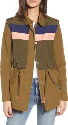 Scotch & Soda Quilted Army Jacket