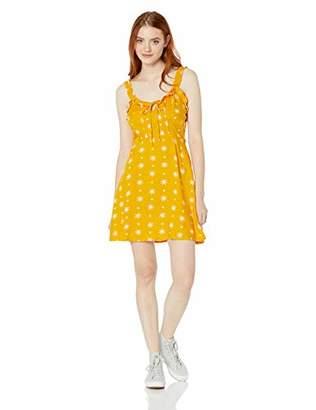 Volcom Junior's Women's I Like It Ruffle Cami Dress,Extra