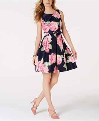 Jessica Howard Floral-Print Fit & Flare Dress