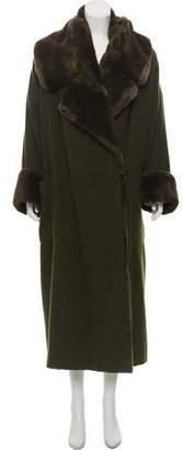J. Mendel Vintage Sheared Mink Coat