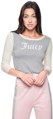 Juicy Couture Gothic Juicy Colorblock Pullover