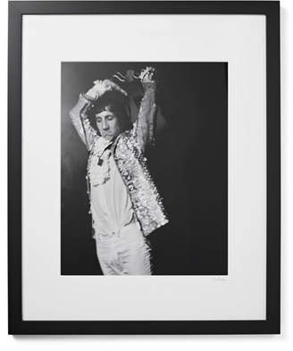 Sonic Editions Framed Pete Townshend, San Francisco Print, 17 X 21