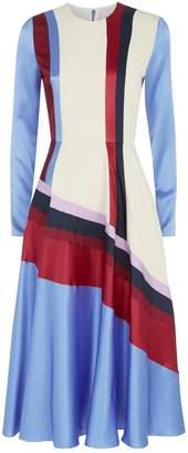 Roksanda Etta Panel Silk Dress