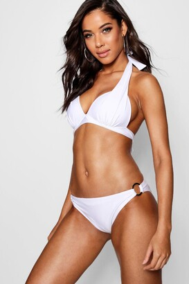 boohoo Moulded Push Up Enhance Triangle Bikini