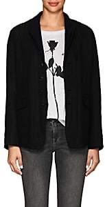 Pas De Calais Women's Layered Wool-Blend Blazer - Black