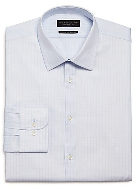 The Men's Store At The Men's Store Checked Stretch Regular Fit Dress Shirt