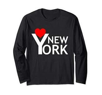 I Love New York Long Sleeve shirt for NYC Lovers