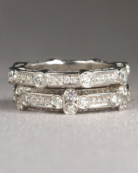 Euphoria Fine Jewelry Single-Station Diamond Eternity Ring