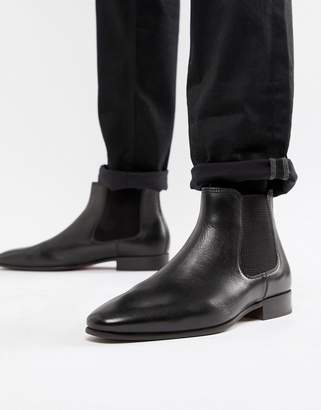 Aldo Chenadien chelsea boots in black leather