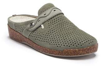 Earth Aurora Jessica Suede Clog - Wide Width Available