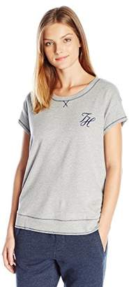Tommy Hilfiger Women's Pullover Top Pajama Shirt Pj