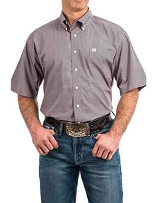 6d591e1330c Cinch Men s Classic Fit Short Sleeve Button One Open Pocket Print Shirt