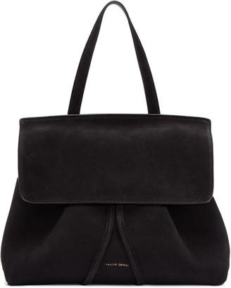 Mansur Gavriel Black Suede Mini Lady Bag $695 thestylecure.com