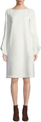 Lafayette 148 New York Emory Finesse Crepe Shift Dress