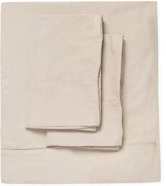 Blend of America Nine Space Hampshire Cotton Linen Sheet Set