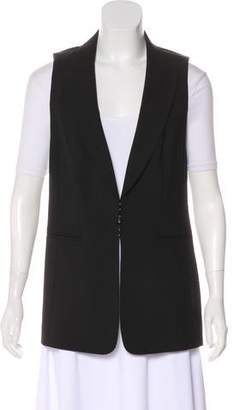 Leith Peak-Lapel Wool Vest