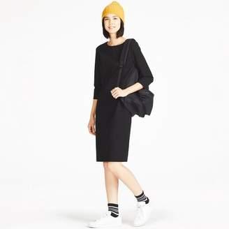 Uniqlo WOMEN Ponte I Line 3/4 Sleeve Dress