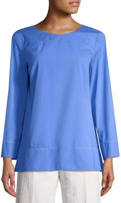 Piazza Sempione Women's Cotton-Blend Blouse