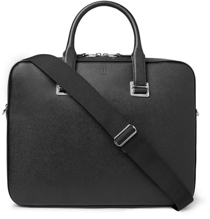 Alfred Dunhill Dunhill Cadogan Full-Grain Leather Briefcase