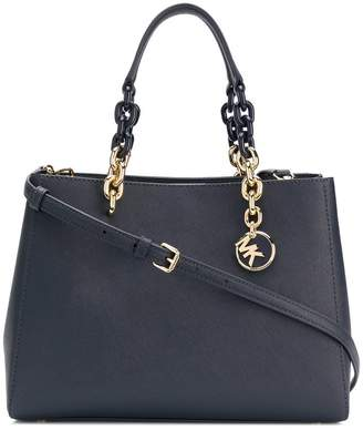 MICHAEL Michael Kors Cynthia saffiano leather satchel