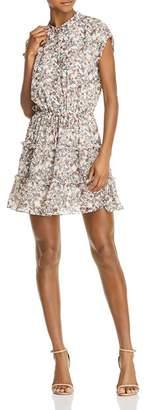 Rebecca Minkoff Ollie Tiered Floral-Print Dress