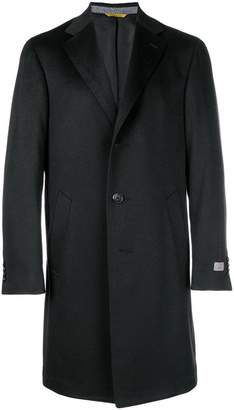 Canali wool single breasted coat