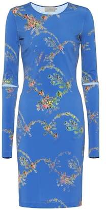 Preen by Thornton Bregazzi Floral-printed stretch crêpe dress