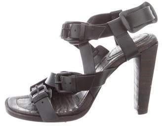 3.1 Phillip Lim Leather Multistrap Sandals
