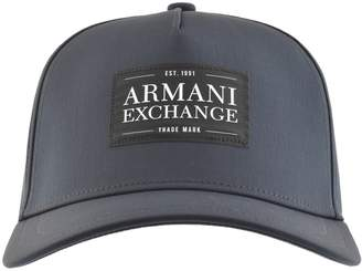 Armani Exchange Logo Cap Navy