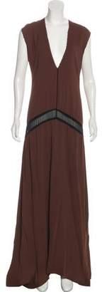 CNC Costume National Sleeveless Maxi Dress