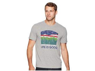 Life is Good Land That I Love Crusher Tee