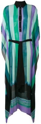 Just Cavalli striped shirt dress