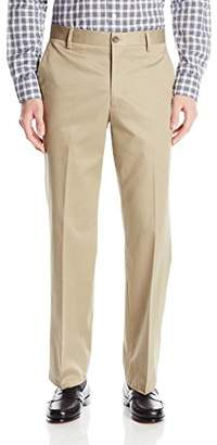 Dockers Refined No Wrinkles Khaki Straight Flat Front Pant