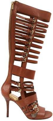 MICHAEL Michael Kors Brown Leather Sandals