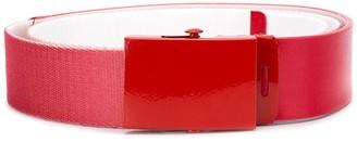 Diesel Red Tag tonal buckle belt