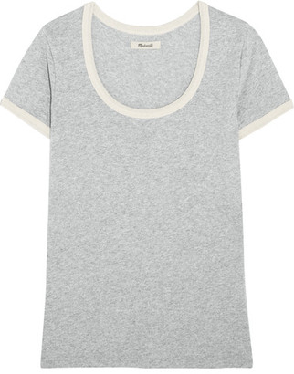 Madewell - Grayson Cotton-jersey T-shirt - x large $30 thestylecure.com