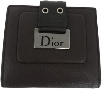 Christian Dior Brown Leather Purses, wallets & cases
